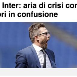 Inter e Roma aria di crisi